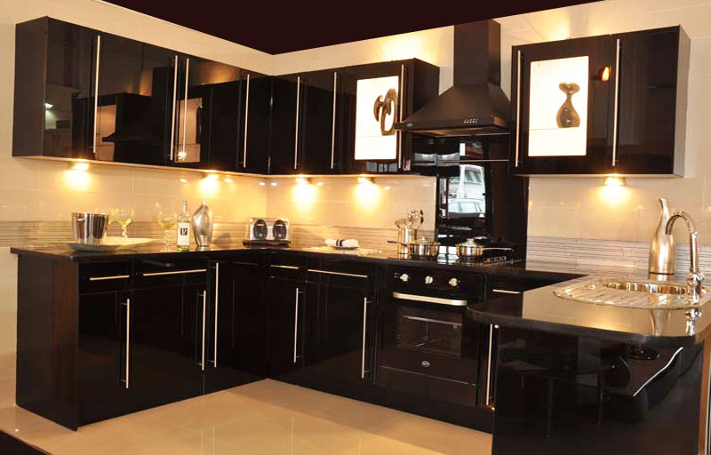 Perfect Black Kitchen Cabinets with Glass Doors 800 x 512 · 78 kB · jpeg